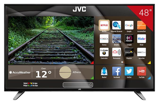 JVC Κ770 Smart TV manuals