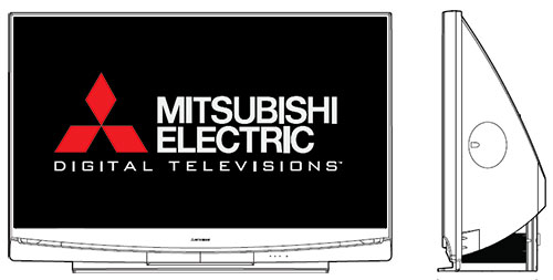 Mitsubishi TV manuals