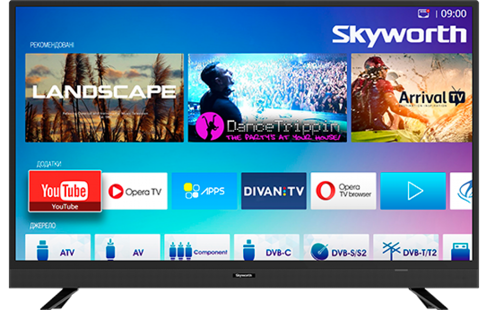 Skyworth Smart TV manual