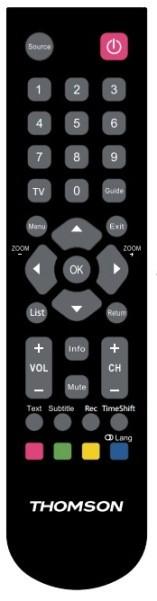 Thomson TV Remote Control